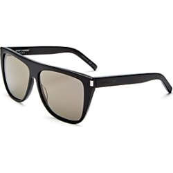 Saint Laurent Women's Flat Top Square Sunglasses, 59mm found on Bargain Bro Philippines from bloomingdales.com for $380.00