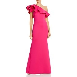 Eliza J Ruffled One-Shoulder Gown found on Bargain Bro Philippines from bloomingdales.com for $148.50