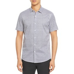 Michael Kors Stretch Cotton Petal Print Button Down Shirt found on Bargain Bro UK from Bloomingdales UK