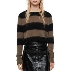 Allsaints Lou Striped Sweater