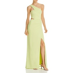 Bcbgmaxazria Cutout One-Shoulder Gown found on MODAPINS from Bloomingdales UK for USD $218.04