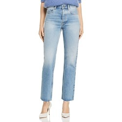 Anine Bing Jackie Rodeo High Rise Jeans in Blue found on MODAPINS from bloomingdales.com for USD $229.00