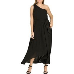 City Chic Plus One Love One-Shoulder Maxi Dress found on MODAPINS from Bloomingdale's Australia for USD $125.61