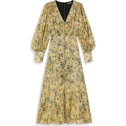 The Kooples Floral Print Midi Dress found on MODAPINS from Bloomingdales UK for USD $182.41