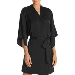 Midnight Bakery Floral & Sequin Back Short Robe found on MODAPINS from Bloomingdales UK for USD $59.08