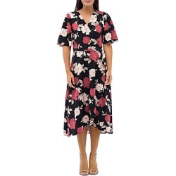 B Collection by Bobeau Orna Floral Print Wrap Dress found on Bargain Bro Philippines from bloomingdales.com for $98.00
