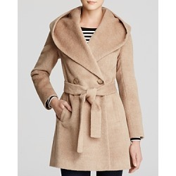 Trina Turk Grace Hooded Alpaca Coat found on Bargain Bro India from bloomingdales.com for $595.00