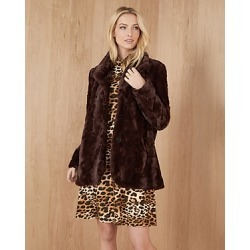 Karen Kane Faux Fur Jacket found on Bargain Bro from Bloomingdales Canada for USD $144.47