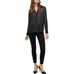 L'Agence Florence Semi Sheer Blouse found on Bargain Bro from Bloomingdales Canada for USD $98.61