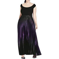City Chic Passion Ombre Maxi Dress found on MODAPINS from bloomingdales.com for USD $149.00