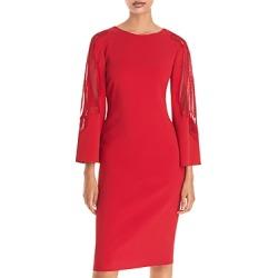 Alberta Ferretti Lace Inset Sheath Dress found on MODAPINS from Bloomingdale's Australia for USD $945.37
