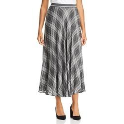 Marina Rinaldi Caprera Plaid Midi Skirt found on Bargain Bro India from Bloomingdale's Australia for $285.47