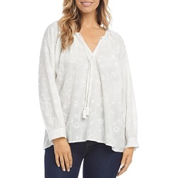 Karen Kane Embroidered Peasant Top found on Bargain Bro India from Bloomingdale's Australia for $81.38