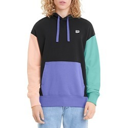 Puma Downtown Cotton French Terry Color Blocked Relaxed Fit Hoodie found on Bargain Bro UK from Bloomingdales UK