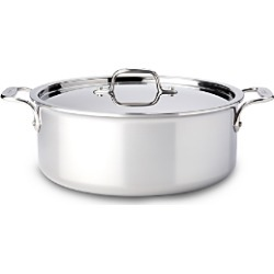 All-Clad Stainless Steel 6-Quart Stock Pot with Lid found on Bargain Bro from Bloomingdale's Australia for USD $236.80