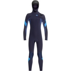 Boy's 8-16 5/4/3mm Syncro Hooded Chest Zip GBS Wetsuit found on Bargain Bro Philippines from Quicksilver for $179.95