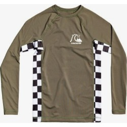 Boy's 8-16 Check This Long Sleeve UPF 50 Rashguard found on Bargain Bro India from Quicksilver for $29.00