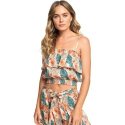 Collier Ruffle Bandeau Top found on MODAPINS from Roxy for USD $27.99