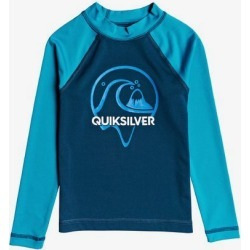 Boy's 2-7 Bubble Dreams Long Sleeve UPF 50 Rash Vest found on Bargain Bro India from Quicksilver for $29.00