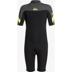 Boy's 8-16 2/2mm Syncro Back Zip Short Sleeve Springsuit found on Bargain Bro India from Quicksilver for $69.95