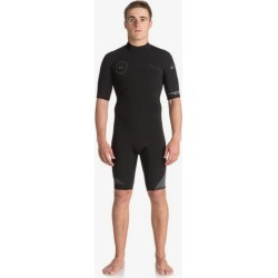 2/2mm Syncro Series Short Sleeve Back Zip FLT Springsuit found on Bargain Bro Philippines from Quicksilver for $65.99