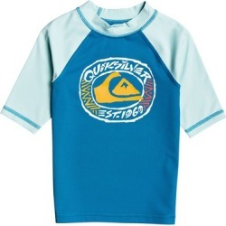 Boy's 2-7 Bubble Dreams Short Sleeve UPF 50 Rashguard found on Bargain Bro Philippines from Quicksilver for $27.00