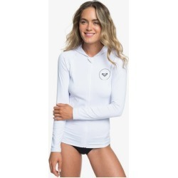 Essentials Long Sleeve Zip-Up UPF 50 Hooded Rashguard found on Bargain Bro India from Roxy for $55.00