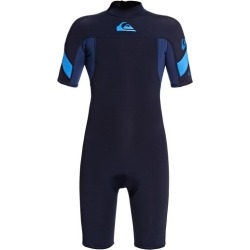 Boy's 8-16 2/2mm Syncro Short Sleeve Back Zip FLT Springsuit found on Bargain Bro Philippines from Quicksilver for $69.95