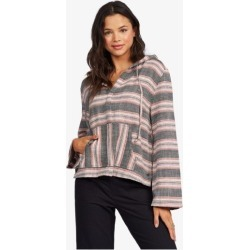 Very Friendly Long Sleeve Poncho Hoodie found on Bargain Bro from Roxy for USD $45.60