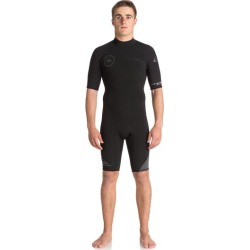 2/2mm Syncro Series Short Sleeve Back Zip FLT Springsuit found on Bargain Bro India from Quicksilver for $94.95