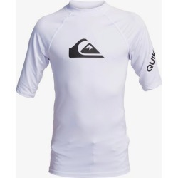 Boy's 8-16 All Time Short Sleeve UPF 50 Rashguard found on Bargain Bro Philippines from Quicksilver for $27.00