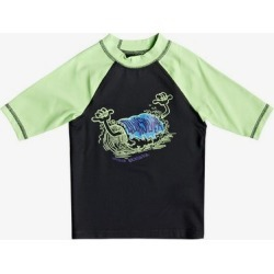 Boy's 2-7 Bubble Dreams Short Sleeve UPF 50 Rashguard found on Bargain Bro Philippines from Quicksilver for $13.99