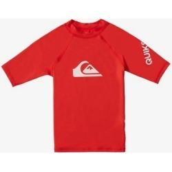 Boy's 2-7 All Time Short Sleeve UPF 50 Rash Vest found on Bargain Bro India from Quicksilver for $27.00
