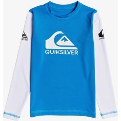 Boy's 2-7 Heats On Long Sleeve UPF 50 Rash Vest found on Bargain Bro Philippines from Quicksilver for $29.00