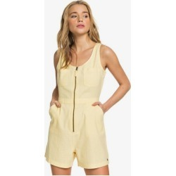 Roll Up Your Sleeve Zipped Romper found on MODAPINS from Roxy for USD $55.00