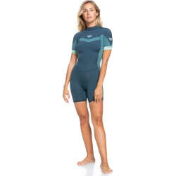 2/2mm Syncro Back Zip Short Sleeve Springsuit found on Bargain Bro from Roxy for USD $72.16
