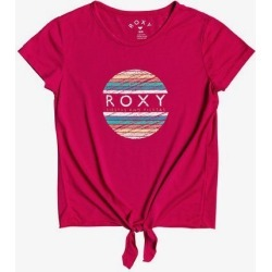 Girls 4-16 Summer Long B Tie-Front Tee found on Bargain Bro India from Roxy for $16.99