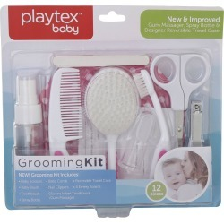 12 Pc Baby Grooming Kit - Pink