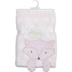Fox Face Soft & Cozy Baby Blanket