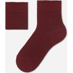 Calzedonia - Children's Short Cotton Socks with Fresh Feet Breathable Material, 34-36, Red, Kids found on Bargain Bro Philippines from Calzedonia S.p.A. for $3.00