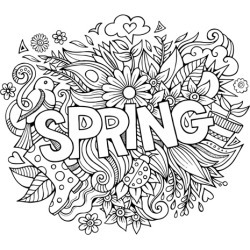 Canvas on Demand Poster Print 16 x 16 entitled Spring