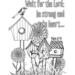 Canvas on Demand Poster Print 20 x 24 entitled Wait for the Lord found on Bargain Bro Philippines from Canvas On Demand - Dynamic for $19.99