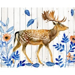 Canvas on Demand Poster Print 20 x 16 entitled Dear Deer I found on Bargain Bro India from Canvas On Demand - Dynamic for $17.99