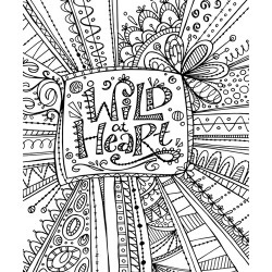 Canvas on Demand Poster Print 16 x 20 entitled Color Me - Wild at Heart found on Bargain Bro India from Canvas On Demand - Dynamic for $47.99