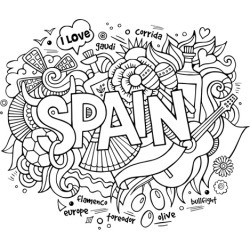 Canvas on Demand Poster Print 16 x 16 entitled Spain found on Bargain Bro India from Canvas On Demand - Dynamic for $16.99