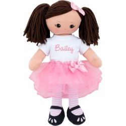 Personalized Hispanic Rag Doll with Tutu found on Bargain Bro India from colorfulimages.com for $39.99