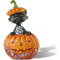 Jim Shore Cat in Pumpkin Mini Figurine found on Bargain Bro India from colorfulimages.com for $15.99
