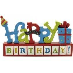 Happy Birthday Blocks found on Bargain Bro India from colorfulimages.com for $11.99