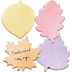 Diecut Autumn Leaf Sticky Note Pads