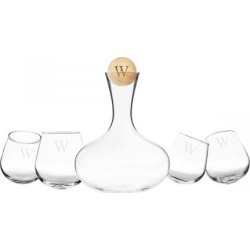 Custom Decanter & 4 Tipsy Wine Glasses Set found on Bargain Bro India from colorfulimages.com for $69.99